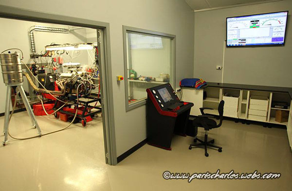 Stanley Racing Engines Dyno Room